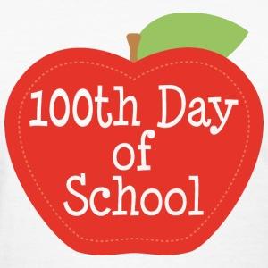 100th-day-of-school-apple-women-s-t-shirts-women-s-t-shirt